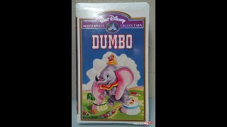 Opening to Dumbo 1994 VHS