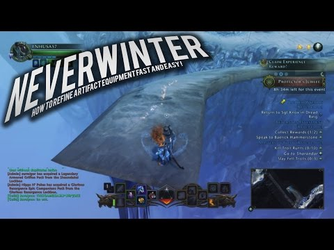 Neverwinter: How to Refine Artifact Equipment Fast and Easy