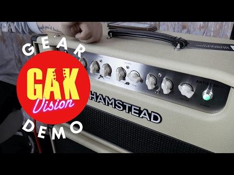 GAK DEMO : Hamstead Soundworks Artist 20+RT Head & 2x12 Vertical Speaker Cabinet