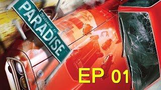 [Burnout Paradise] EP 01: Als dat maar goed gaat... (HD 720p)