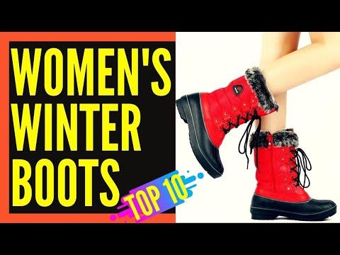 Top 10 Best Winter Snow Boots For Women Reviews 2019-2020