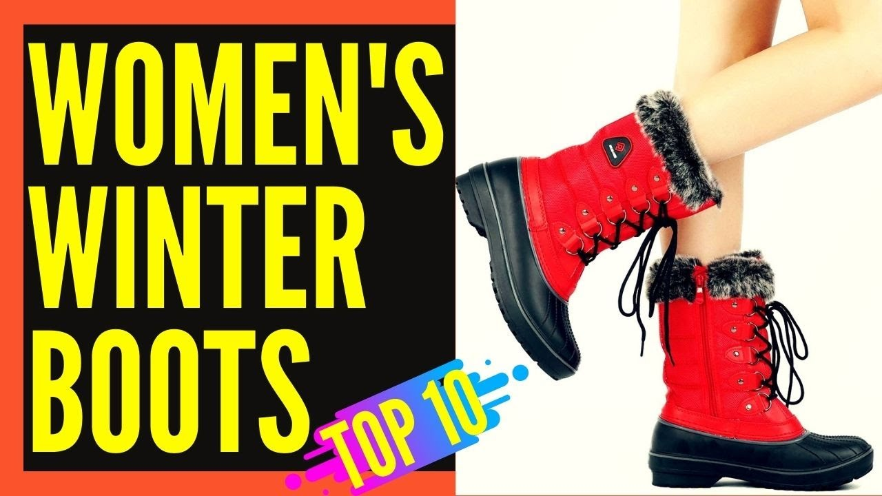 Top 10 Best Winter Snow Boots for Women Reviews 2019 2020