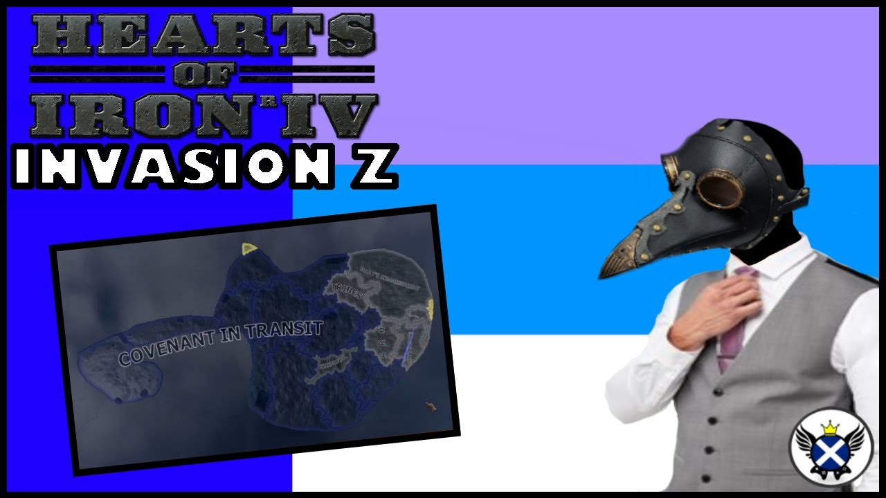 The Covenant of Transit Takes Over! | HOI4 Invasion Z West Mine
