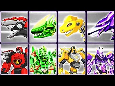 Triple-Forms Robot Bundle #1: Tyrannosaurus, Stegosaurus, Plesiosaurus & Pterosaur | Eftsei Gaming