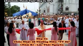 """Đáp Ca - Chúa Nhật 28 Thường Niên """"TV 89"""" (Năm B) Thái Nguyên"""