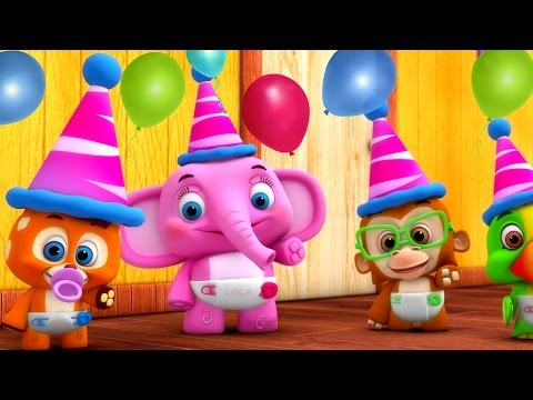 Party Songs for Kids | Eenie Meenie Minie Moe, Happy Birthday & More | Nursery Rhymes Collection