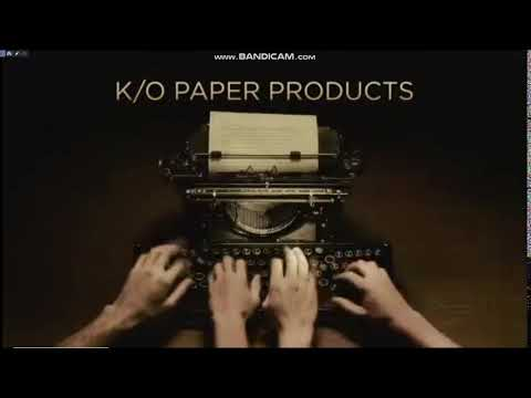 K/O Paper Products/101st street Television/CBS Television Studios (2018)
