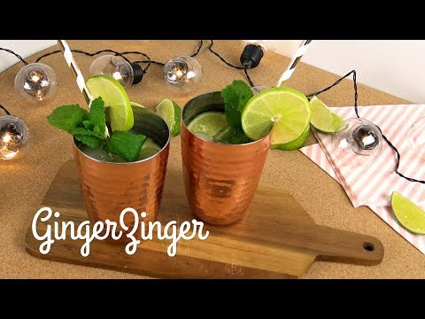 Ginger zinger mocktail | WCRF UK Healthy Recipes