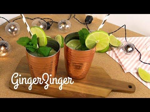 Ginger zinger mocktail | WCRF UK Healthy Recipes