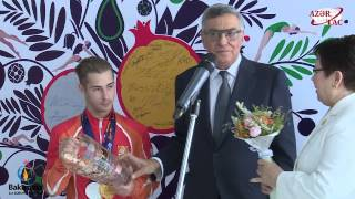 Олегу Степко вручены специальные награды от НОК