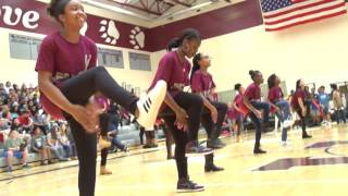 8th Grade STEP TEAM,   Union Grove Middle School, McDonough, GA    STEP TEAM      GET READY
