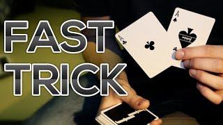 FAST IMPRESSIVE CARD TRICK - Tutorial | TheRussianGenius