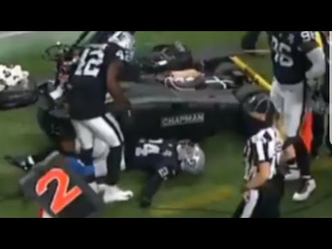Las Vegas Raiders Johnathan Abram Suffered Collarbone Injury After MNF Game By Joseph Armendariz