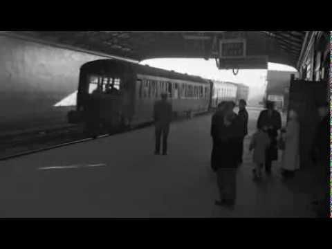 1958 - Last Train Leaves Harcourt Street Station, Dublin