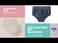 2nd Year Baby Boy Bloomers, Diaper Covers & Underwear 12-18 Month Size Collection