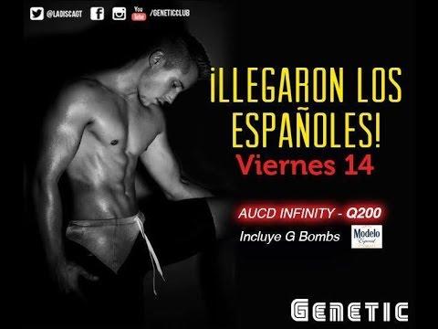 """""""Los Españoles Llegaron ya"""" en Genetic Majestic Club de Guatemala"""