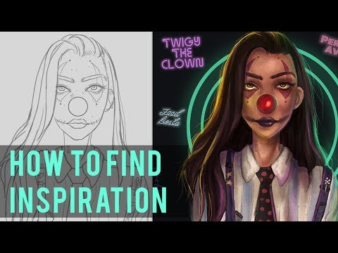 How to Find Inspiration as an Artist! | Tips & Tricks