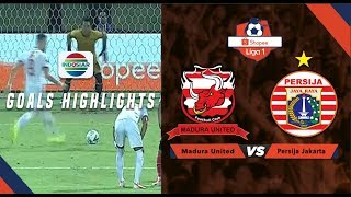 Madura United (2) vs (2) Persija Jakarta - Goal Highlights | Shopee Liga 1