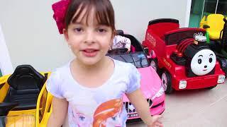 Coleção de carros de brinquedos para crianças da Laurinha