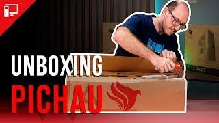 Pichau ataca em novas áreas! Unboxing de vários componentes que agora levam o logo da empresa