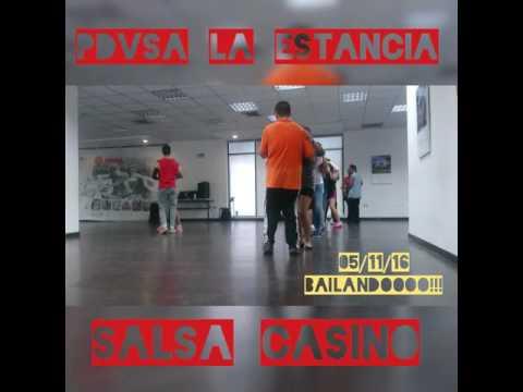 Practicando Salsa Casino Social en Pdvsa La Estancia Maracaibo Gente de Zona - La Gozadera