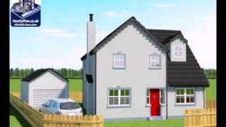 Handyplan.co.uk 1027 Proposed Single Storey Rear Extension With Garage
