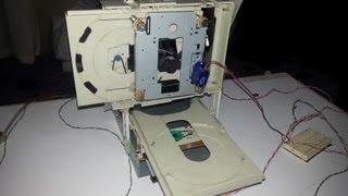 DIY - Mini Fresadora CNC con unidades de CD