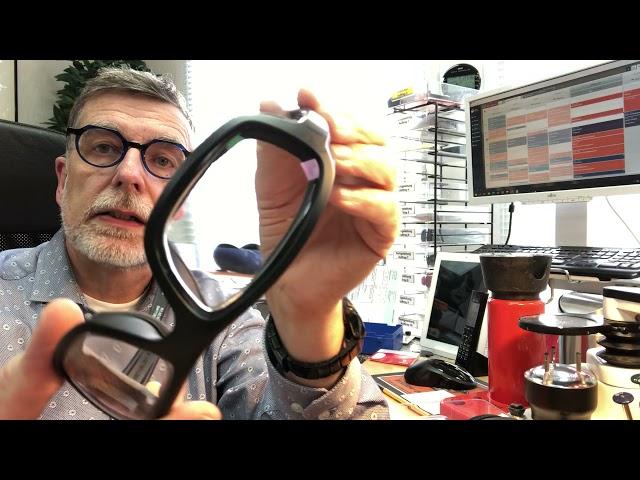 Verglasung von Wiley X Bikerbrillen, wie Boss, Omega und Wave, sowie eine Circuit von Leader