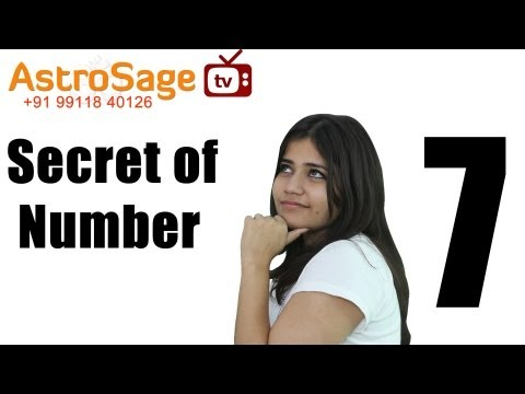 Numerology Number 7 & You