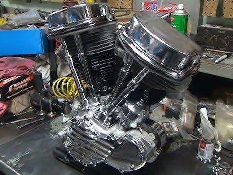 1949 PanHead 74ci #101 Motor Overhaul rebuild FL FLH harley by Tatro Machine