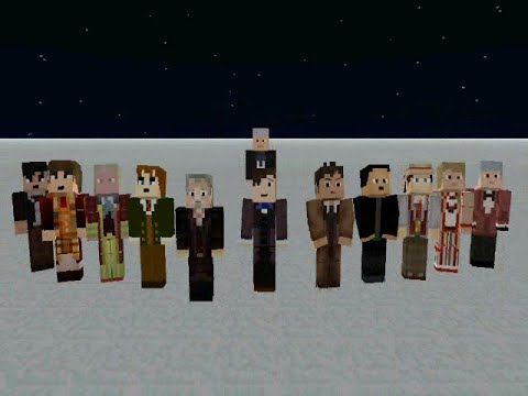 Minecraft Doctor Who - The Day of the Doctor - 12 Doctors ...