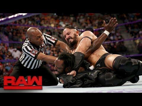 Neville brutalizes Rich Swann: Raw, June 12, 2017