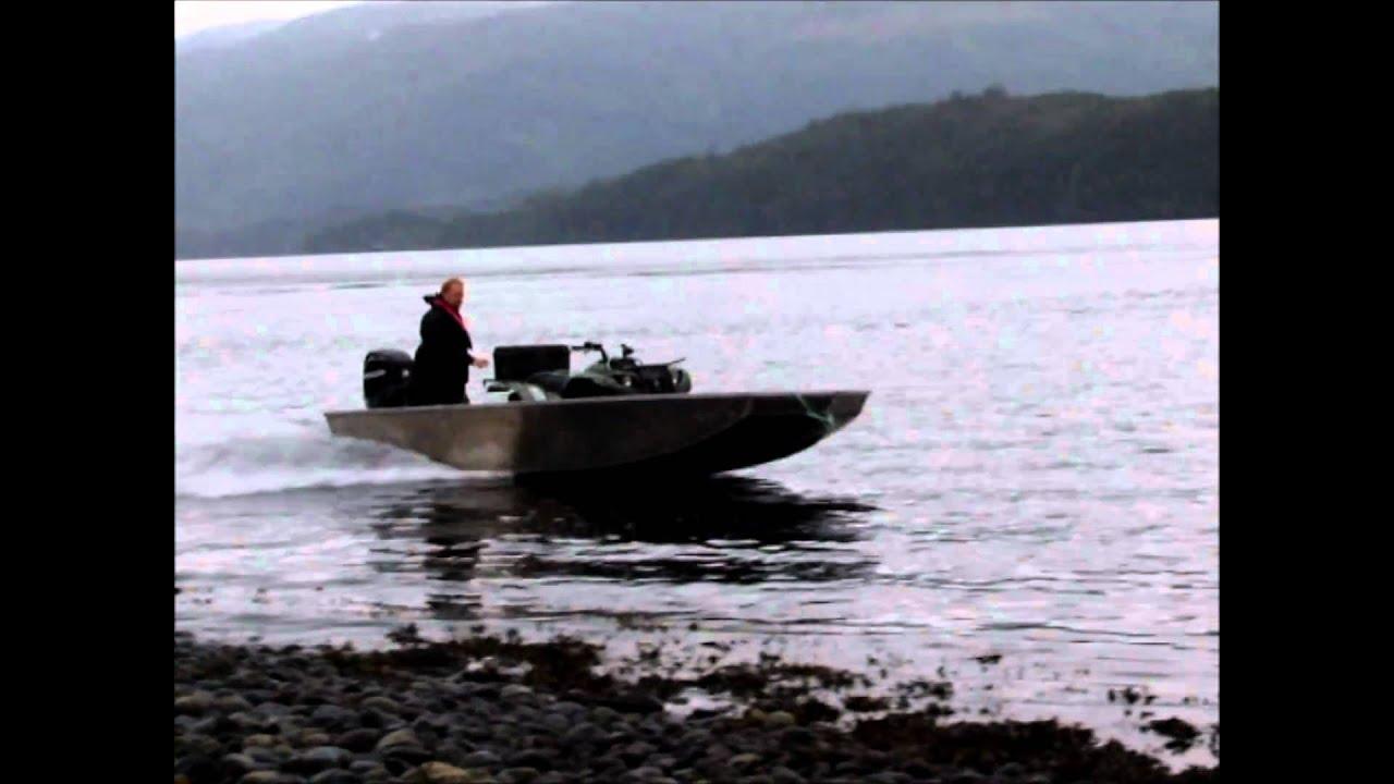 River Punt - Mercury 40hp EFI Jet - ATV onboard