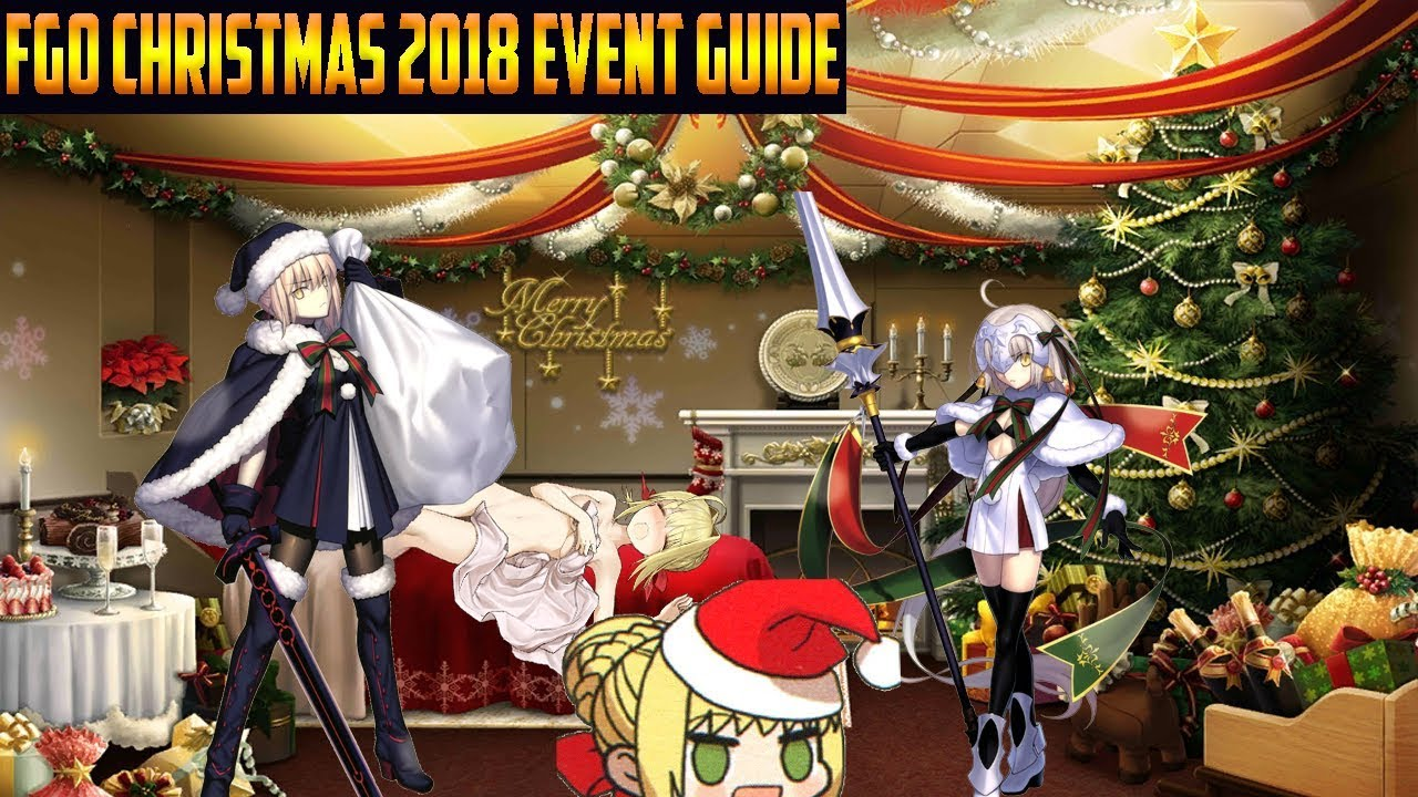 Fgo Na Christmas 2018 Little Santa Alter Complete Event Guide Tips Farming Youtube