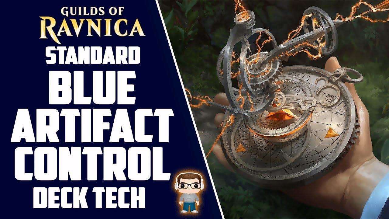 MONO BLUE ARTIFACT CONTROL Deck Tech - Guilds of Ravnica Standard (MTG)