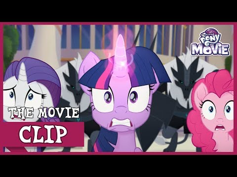 Tempest and The 'Storm Creatures' Invades Canterlot  My Little Pony: The Movie Full HD