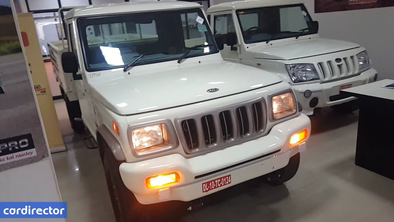 Mahindra Bolero Pickup FB CNG 2018 | Bolero 2018 Pickup | Interior and  Exterior | Real-life Review