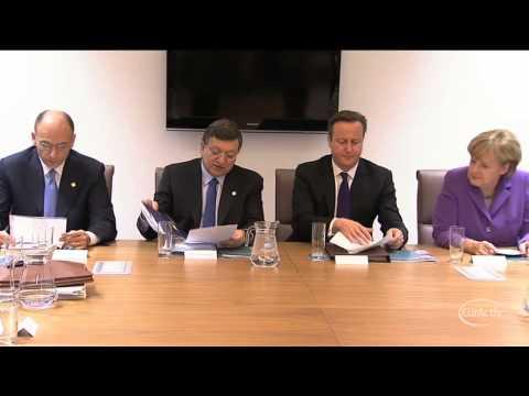 EU leaders meet UK business figures