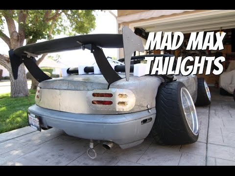 Mad Max Style Tailights On a Miata!