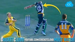 """Afridi vs McGrath & Lee - Got Hit on Head Then Proved Umpire wrong """"McGrath not easy to Smash away"""""""