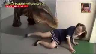 Прикол с динозавром