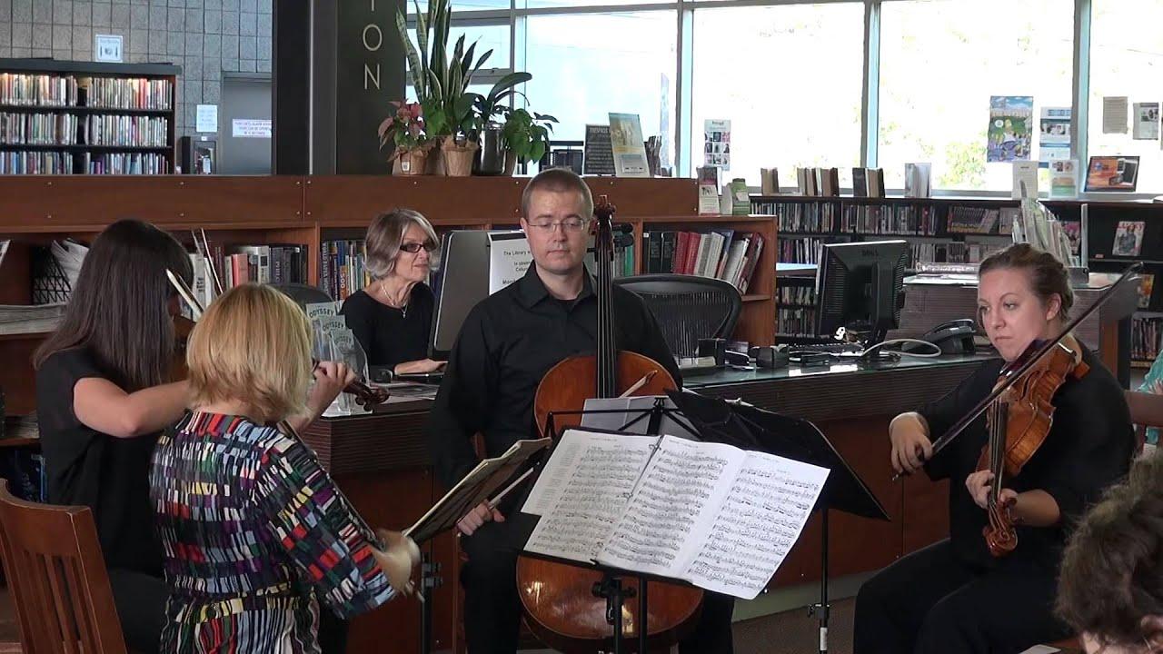 Fiato Quartet - Quartet in Residence @ Westwood Library, Oct  12, 2014  Concert Excerpt