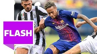 Neymars Wahnsinns-Show gegen Juve | International Champions Cup / Barcelona vs Juventus Turin