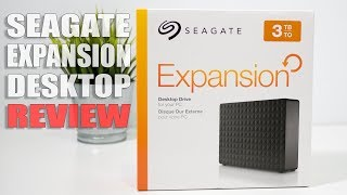Seagate Expansion Desktop External Hard Drive 3TB 2018 Review