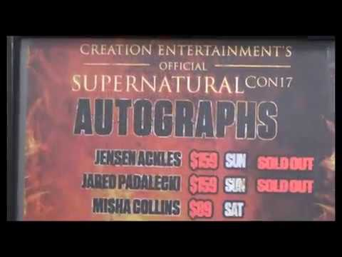 Supernatural TV Show Convention • Jacksonville, Florida. Prices