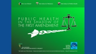Public Health in the Shadow of the First Amendment