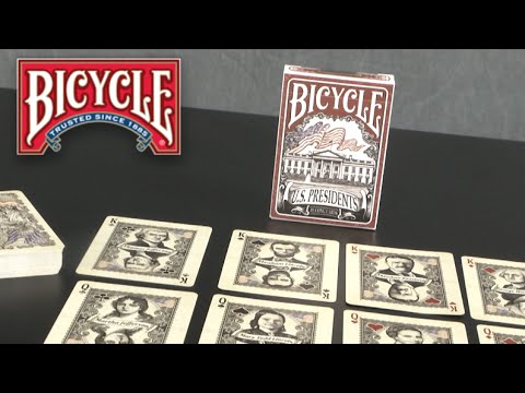 Bicycle U.S. Presidents Playing Cards From Bicycle