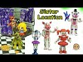 Five Nights A Freddy's Sister Location Funko Vinyl Ballora, Baby,  Funtime Foxy Game Toy Set