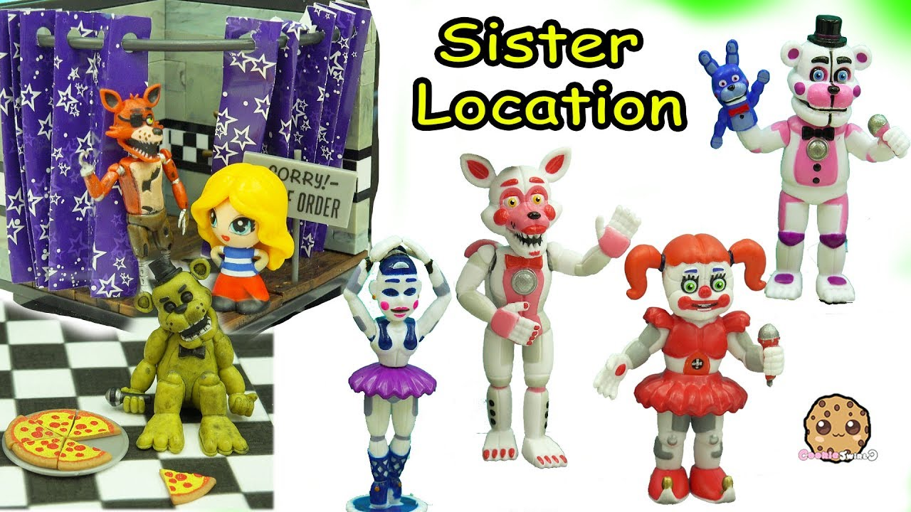 Dress up five nights at freedys - Five Nights A Freddy S Sister Location Funko Vinyl Ballora Baby Funtime Foxy Game Toy Set
