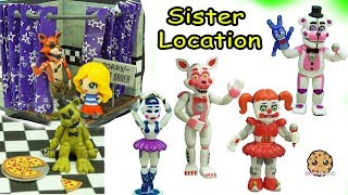 Five Nights A Freddy's Sister Location Funko Vinyl Ballora, Baby,  Funtime Foxy Game Toy Set thumbnail
